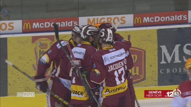 Hockey: Genève – Lausanne (6-1) [RTS]