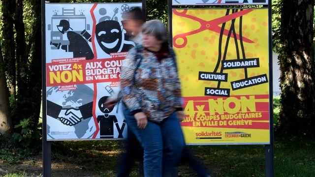 Genève votations annulées. [Martial Trezzini - Keystone]