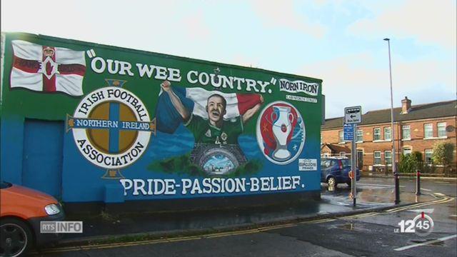 Football: les tensions religieuses en Irlande du Nord s'améliore lentement [RTS]