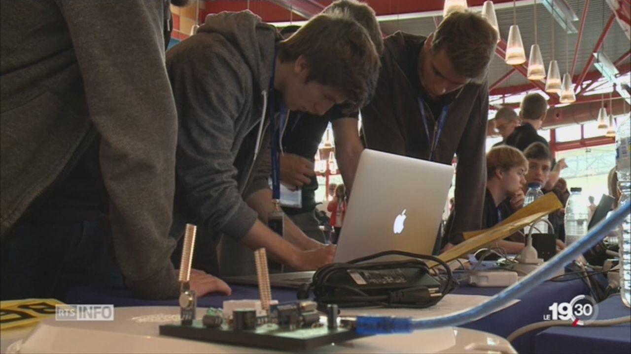 Espagne: la ville de Malaga accueillait le championnat européen de cybersécurité [RTS]
