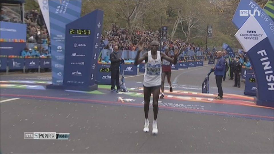 Marathon de New-York: cet évènement réunit chaque année plus de 50'000 participants [RTS]