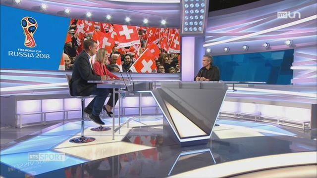 Football - équipe nationale: la Suisse va affronter l'Irlande du Nord en barrage [RTS]