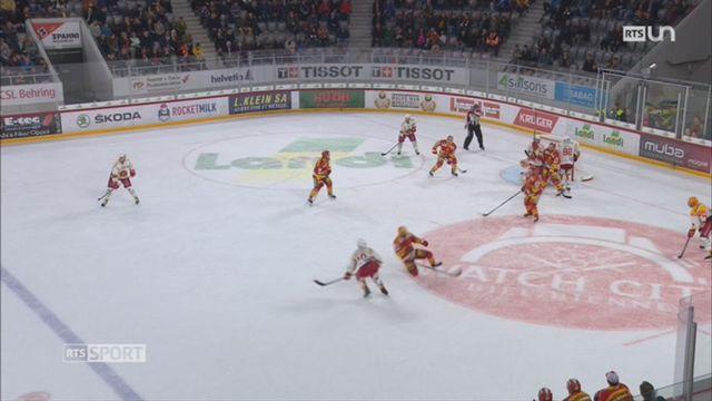 Hockey - National League: premier bilan des performances de Bienne [RTS]