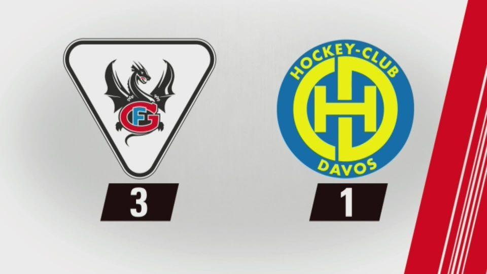 Fribourg - Davos (3-1): tout les buts de la rencontre [RTS]