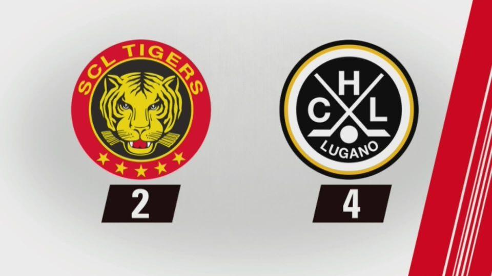 Langnau - Lugano (2-4): tout les buts de la rencontre [RTS]