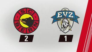 Berne - Zoug (2-1): tout les buts de la rencontre [RTS]