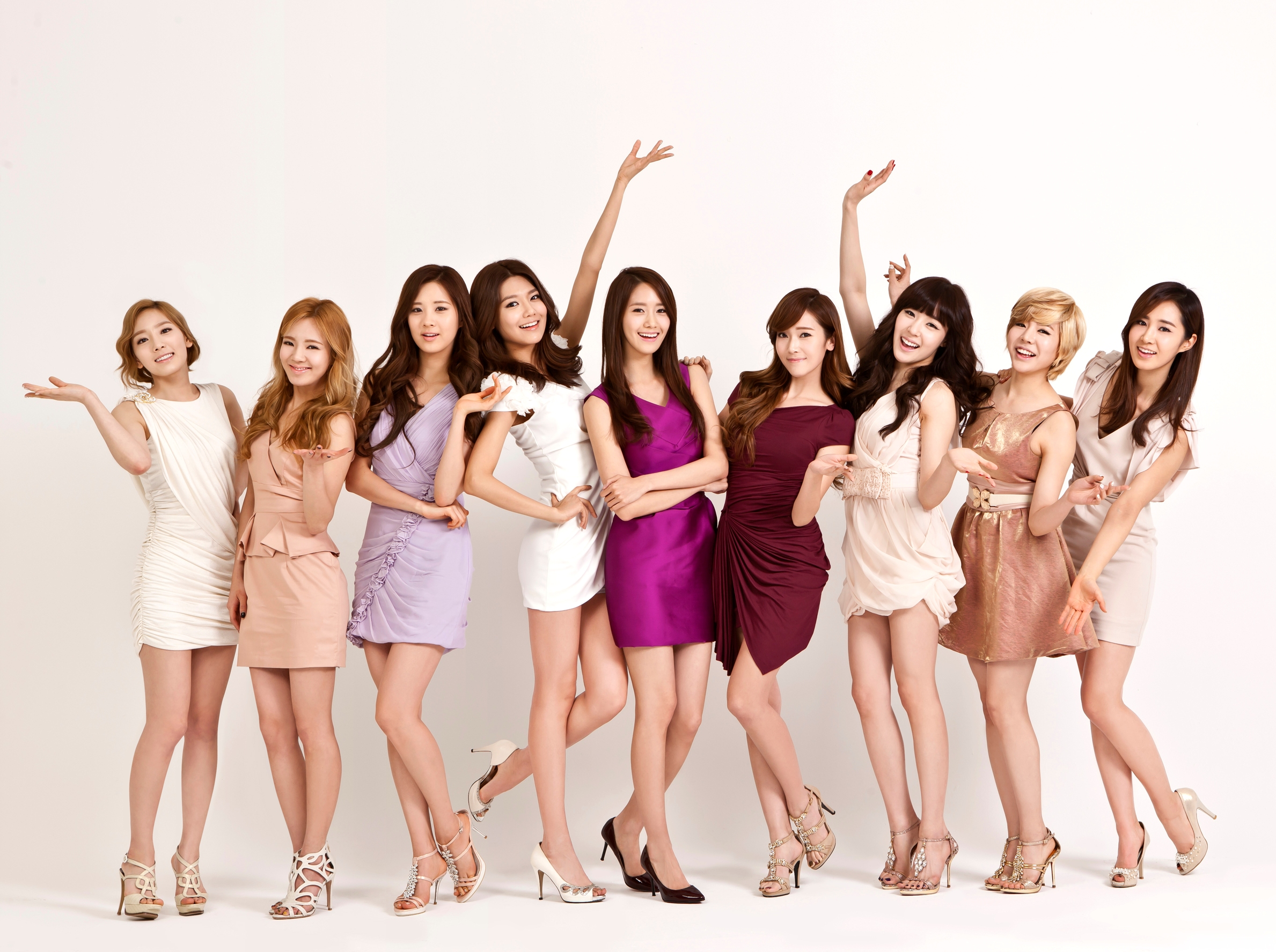 Girls' Generation, le girls band le plus en vogue de la K-Pop.