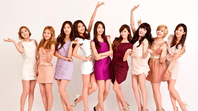 Girls' Generation, le girls band le plus en vogue de la K-Pop. [LGEPR - CC-BY-SA]