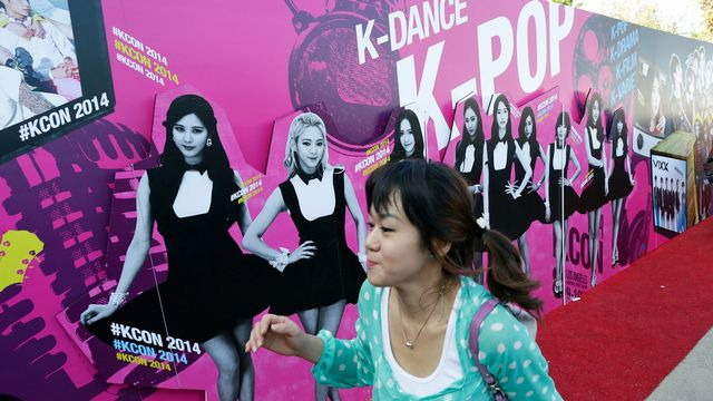 """Le groupe """"Girls Generation"""" est l'une des figures de la musique pop sud-coréenne. [Jonathan Alcorn - Reuters]"""
