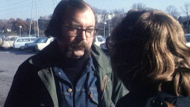 Jacques Chessex vient d'apprendre qu'il est le lauréat du Prix Goncourt 1973. [RTS]