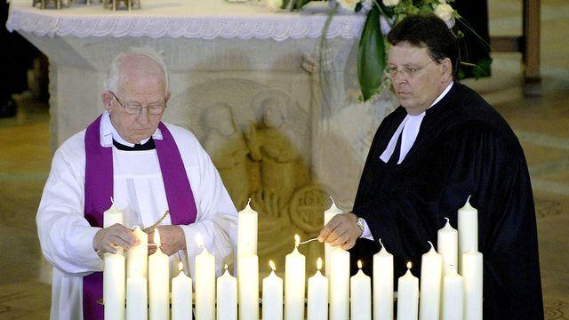 Le XXe siècle a considérablement changé la donne avec la création du Conseil œcuménique des Eglises (image d'illustration). [Guido Bergmann - BPA/AFP]