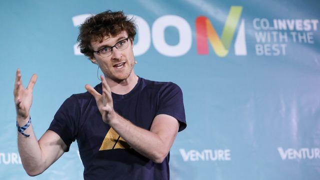 Paddy Cosgrave, co-fondateur et patron du Web Summit, conférence qui se tient du 6 au 9 novembre à Lisbonne. [Miguel A. Lopes - Keystone]