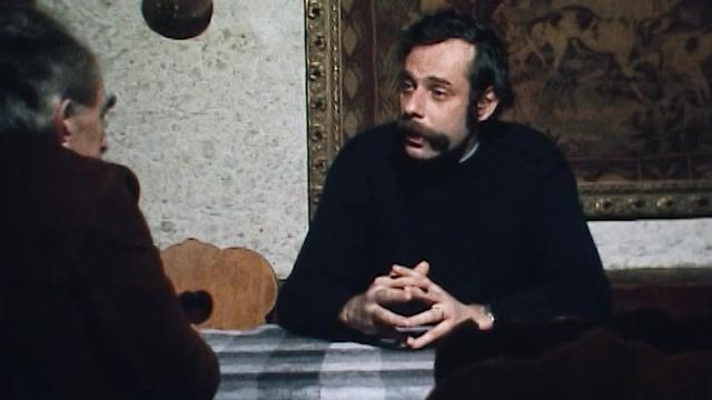 Jean-Luc Bideau répond aux questions de Rodolphe-Maurice Arlaud, 1975. [RTS]