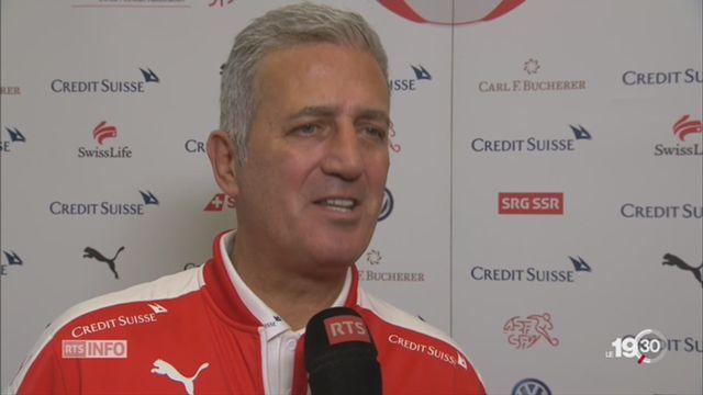Football: l'équipe de Suisse s'est réunie à J - 3 [RTS]