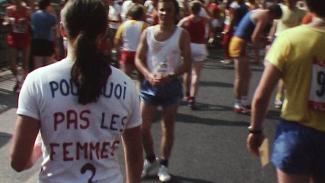 Les femmes à Morat-Fribourg dans les années 70, des intruses. [RTS]