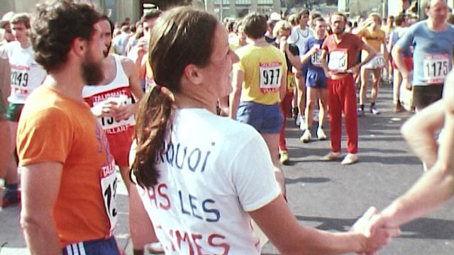 A Morat-Fribourg dans les années 70, les femmes ne sont pas les bienvenues. [RTS]