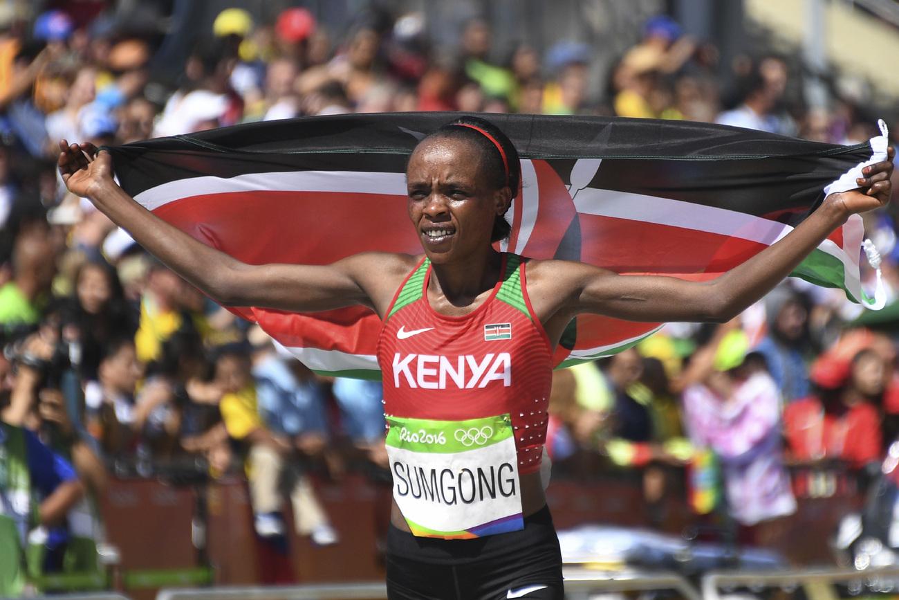 La Kényane Jemima Sumgong suspendue quatre ans pour dopage — Athlétisme
