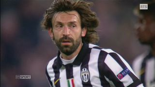 Andrea Pirlo pendant un match de Ligue des champions avec la Juventus de Turin. [RTS]