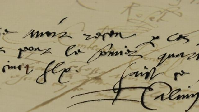 Jean Calvin était payé 500 florins par an par Genève en tant que ministre de la parole de Dieu [Capture d'écran - RTS]