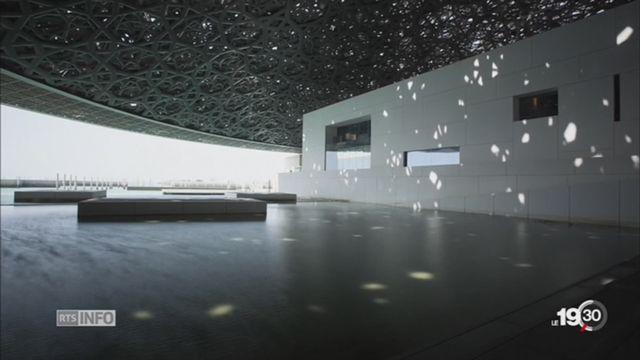Le Louvre Abu Dhabi inauguré en grande pompe en présence d'Emmanuel Macron [RTS]