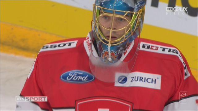 Suisse - Canada (1-1): magnifique arrêt de Hiller [RTS]