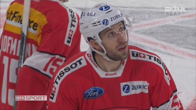 Suisse - Canada (2-3): 59e, R. Loeffel [RTS]