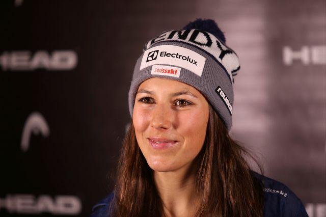 Wendy Holdener vise un premier succès en slalom cet hiver. [Mathias Mandl - EQ]