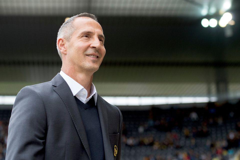 Le coach autrichien entend bien mener YB au titre national. [Daniel Teuscher - EQ]
