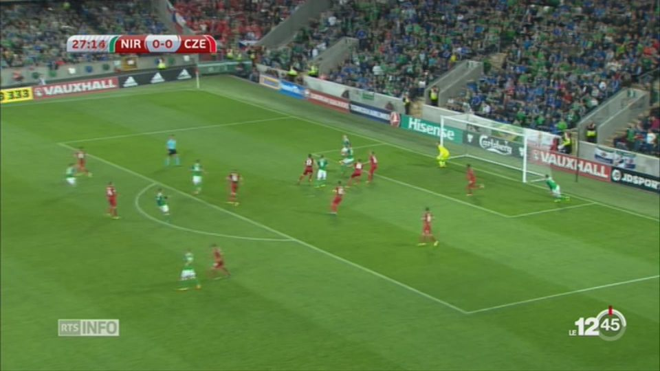 Football: la Suisse affronte l'Irlande du Nord en barrages de Coupe du Monde [RTS]