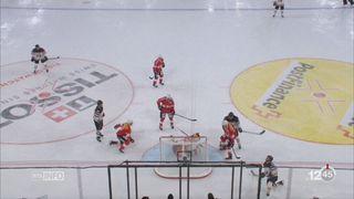 Hockey: la Suisse perd son match de préparation contre le Canada [RTS]