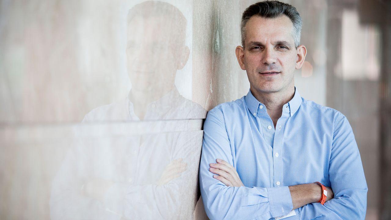 Antoine Blondeau, président et co-fondateur de Sentient Technologies.  [Isaac Lawrence - AFP]