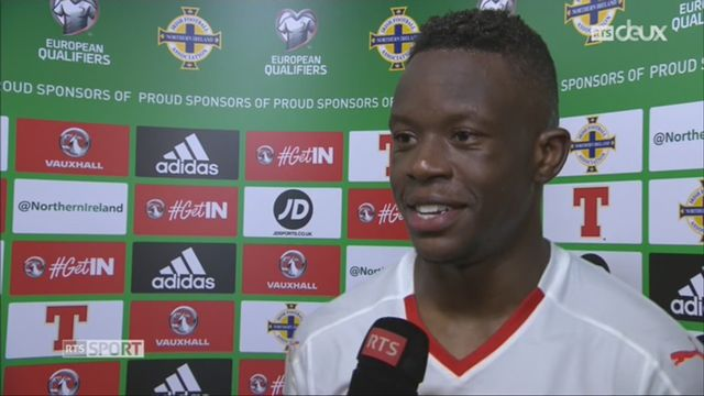 Football, barrages, Irlande du Nord - Suisse (0-1) Zakaria à l'interview [RTS]