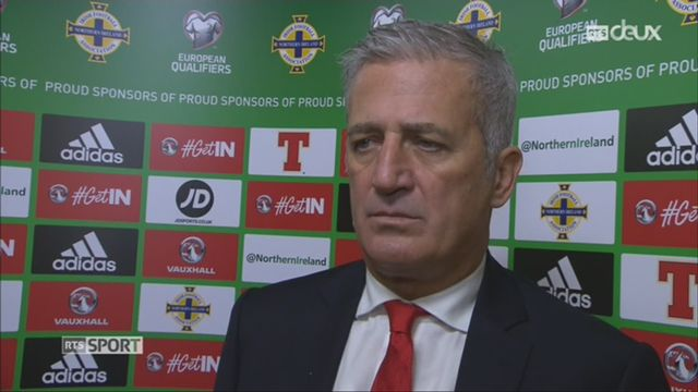 Football, barrages, Irlande du Nord - Suisse (0-1) Petkovic au micro de RTSsport [RTS]