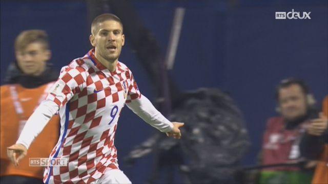 Football, barrages, Croatie - Grêce (4-1) le résumé du match [RTS]