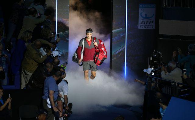 Roger Federer aux Masters en novembre 2014 à Londres. [AFP / DPPI]