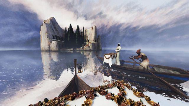 """""""L'Île des Morts"""" pénètre au coeur du tableau du peintre suisse Arnold Böcklin. [RTS - RTS]"""
