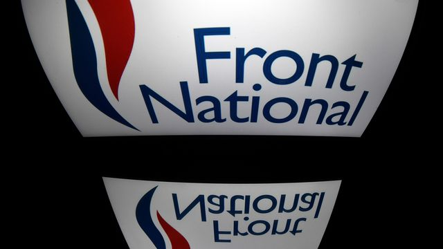 Logo du FN. [Lionel Bonaventure - AFP]