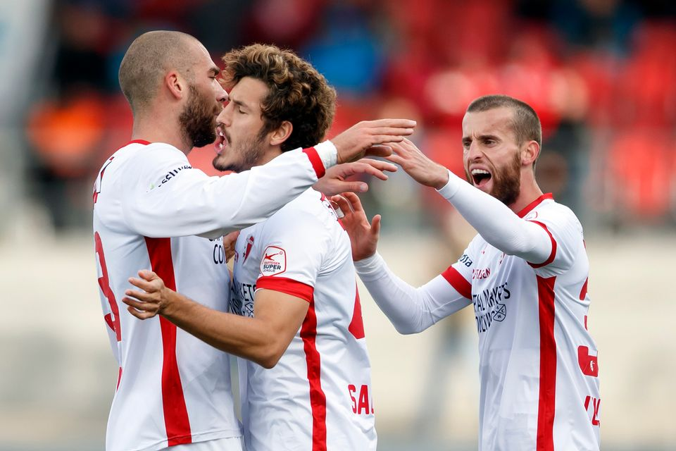 Sion occupe actuellement l'avant-dernière place du Championnat de Super League. [Valentin Flauraud - Keystone]