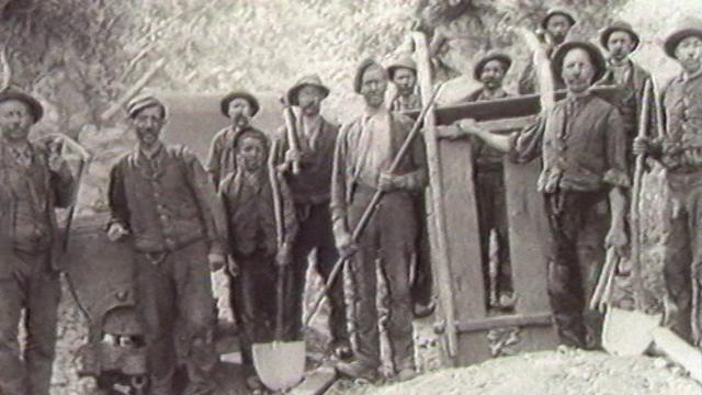 Les mineurs de Grône dans les années 20. [DR]