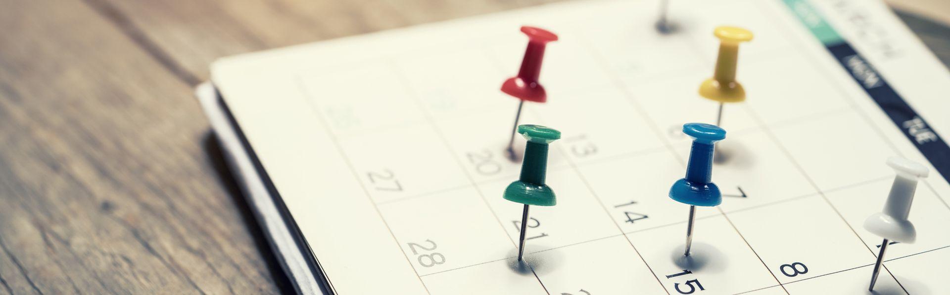 Le calendrier. [tatomm - Fotolia]