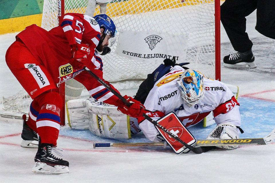 Les Tchèques ont pris l'avantage dès la 3e minute. [Pekka Sipola - Keystone]