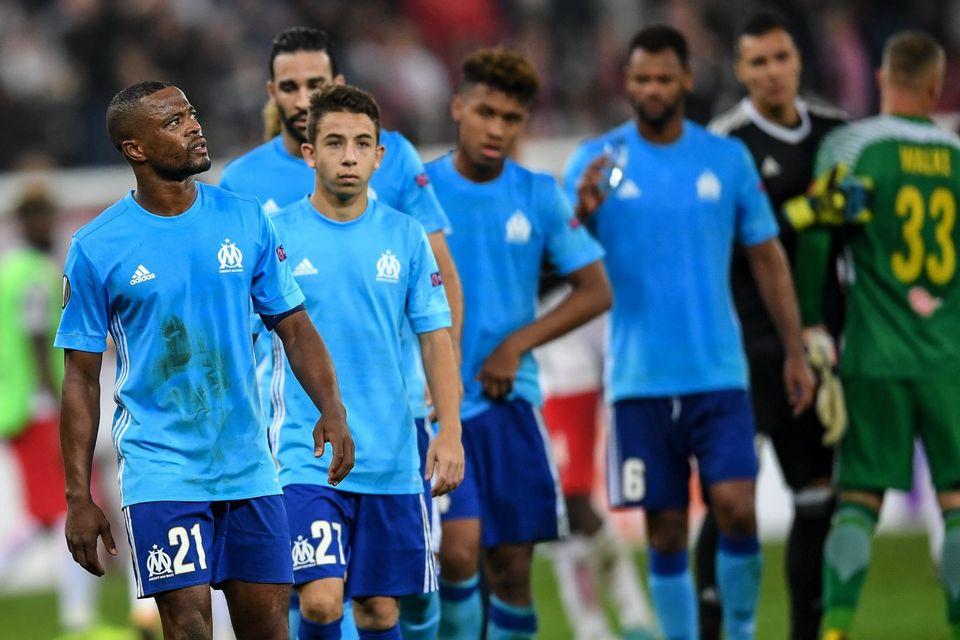 Patrice Evra ne foulera plus les pelouses en coupe d'Europe jusqu'en juin prochain. [Andreas Schaad - Keystone]