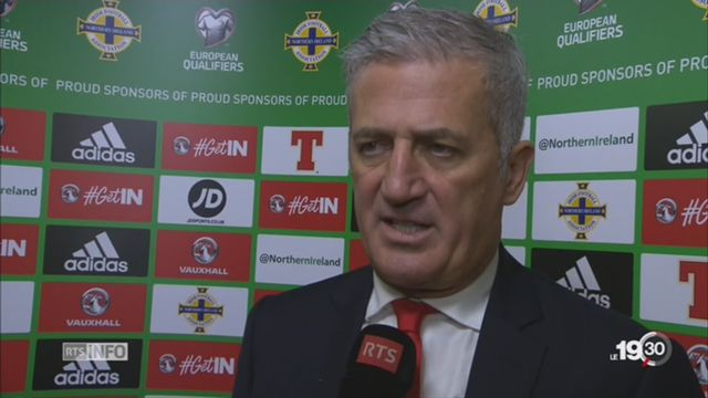 Football: la Suisse doit garder la tête froide après leur victoire face à l'Irlande du Nord [RTS]