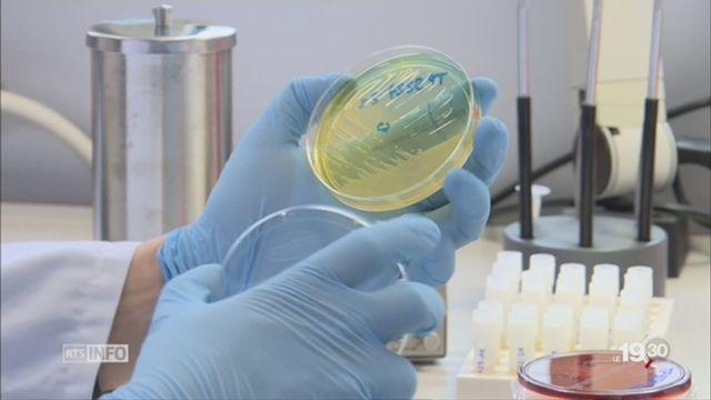 La résistance des bactéries aux antibiotiques inquiète [RTS]