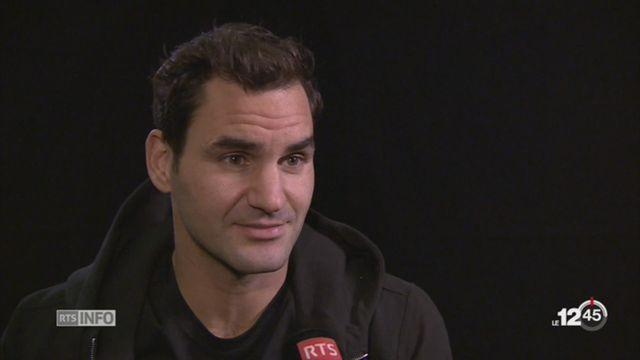 Tennis: Federer peut remporter une 8e titre cette année [RTS]