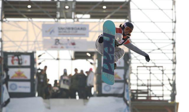 Sina Candrian a parfaitement lancé cette saison olympique. [Andreas Pranter - EQ]