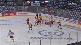 Hockey: la Suisse s'incline face à la Russie [RTS]
