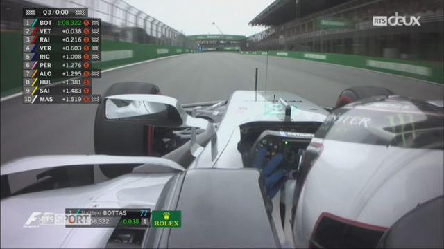 F1 - GP du Brésil: Hamilton fait une sortie de route lors des essais [RTS]