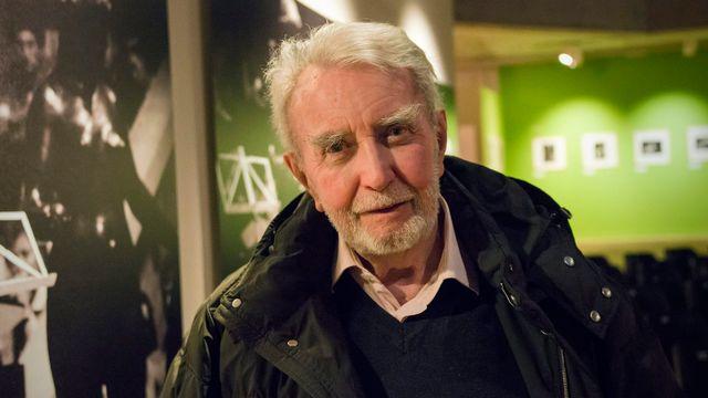 Marcel Imsand lors d'une exposition à la fondation Pierre Gianadda en 2012. [Olivier Maire - Keystone]