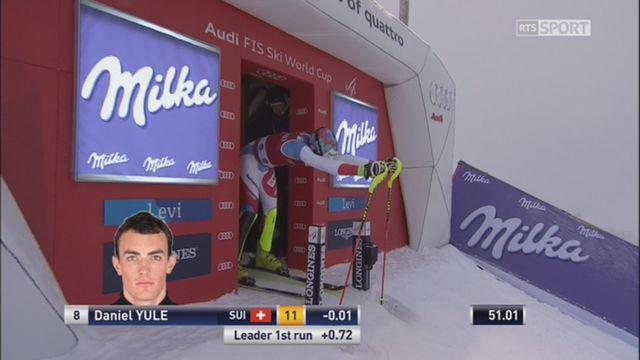 Levi (FIN), slalom 2e manche: Yule (SUI) termine sa course à la deuxième place provisoire [RTS]